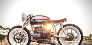 Custom 1979 BMW R80 'Skyway' by Hutchbilt