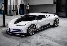 Ultra limited Bugatti Centodieci Coupe: 1,600 hp piece of art