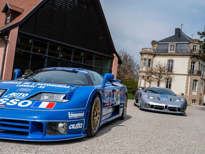 Bugatti EB110 was produced from 1991-1995 and in the period 139 cars were produced.