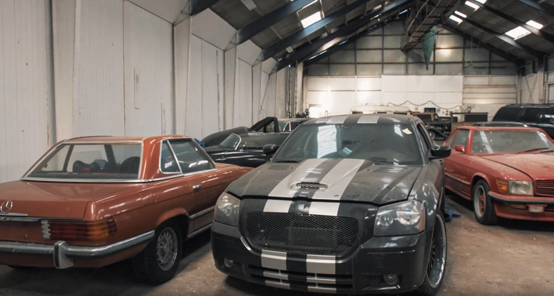 Barn find in Denmark: 59 cars left behind by American millionaire