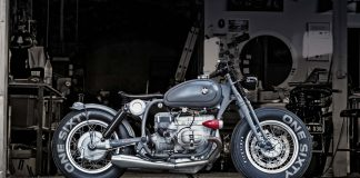Custom BMW R100 Bobber by Renard Speed Shop