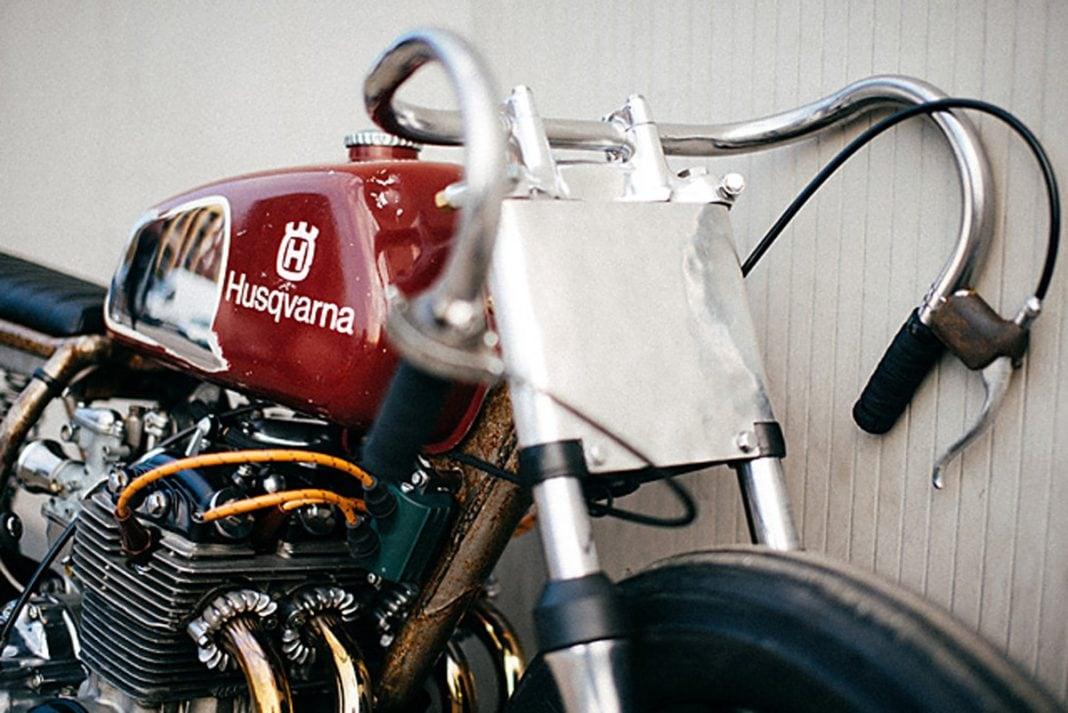 Custom Honda CB350F by Apache Custom Motorcycles