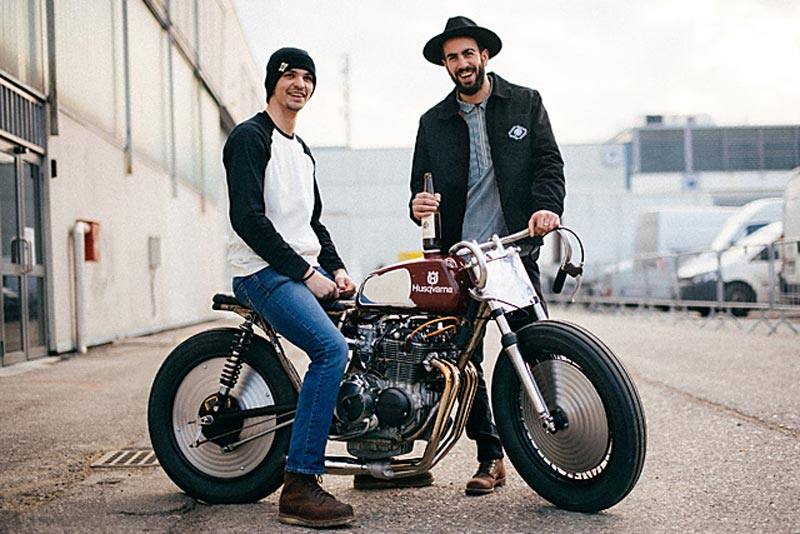 Custom Honda CB350F by Apache Custom Motorcycles