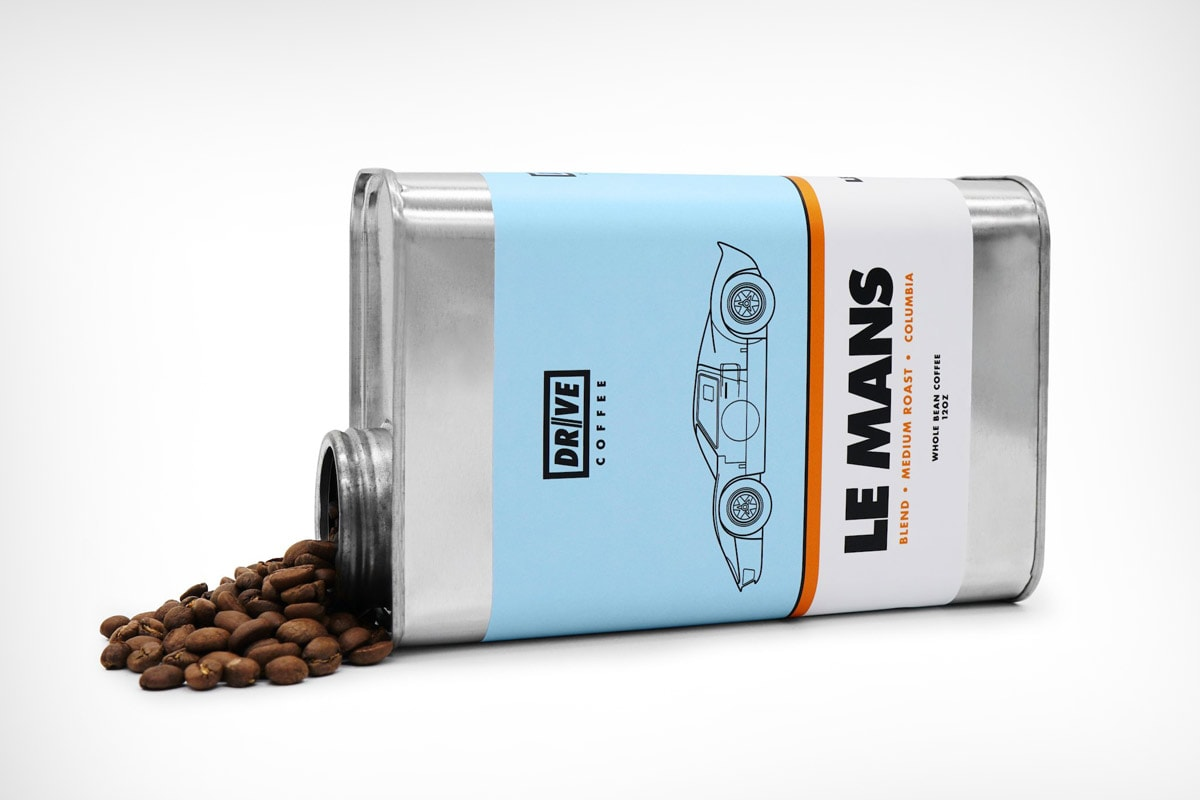 Drive Coffee Collection: The essence of racing in a cup
