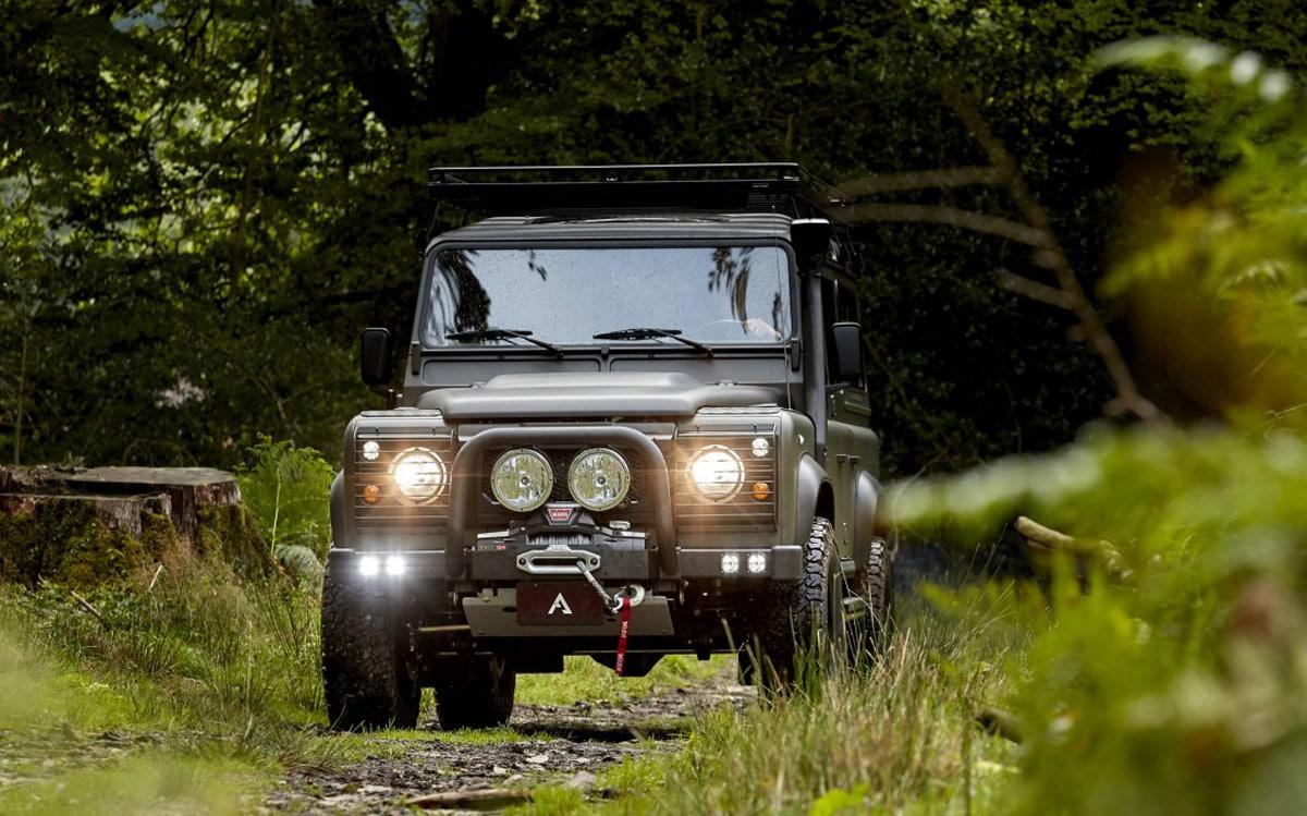 Land Rover Defender 110 Restoration: Arkonik Clone