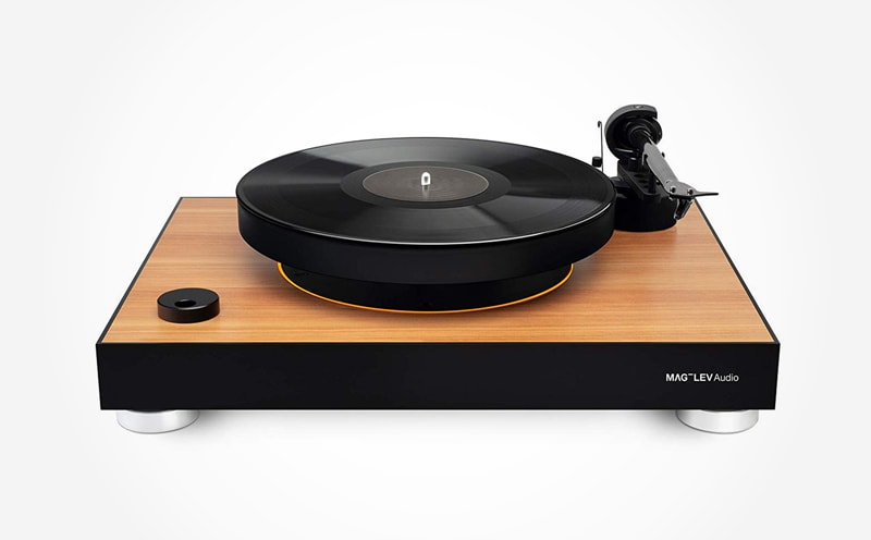 Top 6 high-end wooden turntables MAG-LEV Audio's Record Player ML1 Wood Edition