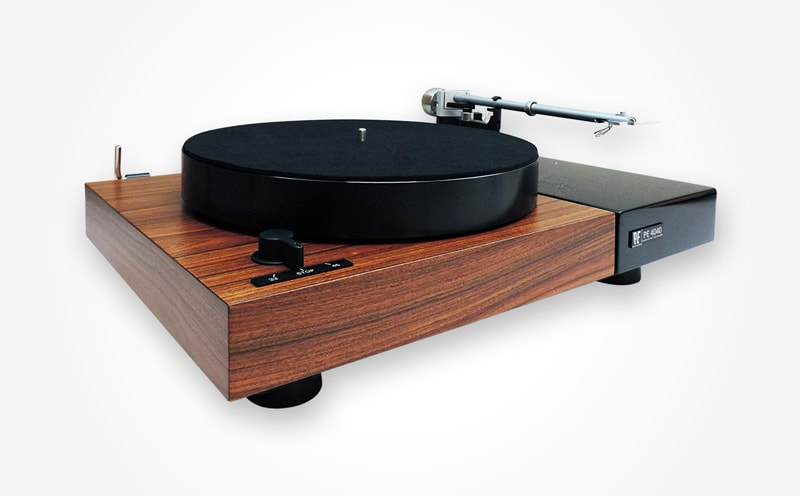 Top 6 high-end wooden turntables Perpetuum Ebner PE 4040 Flagship Turntable