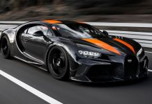 Raw footage: Bugatti Chiron Top Speed of 304.77mph World Record