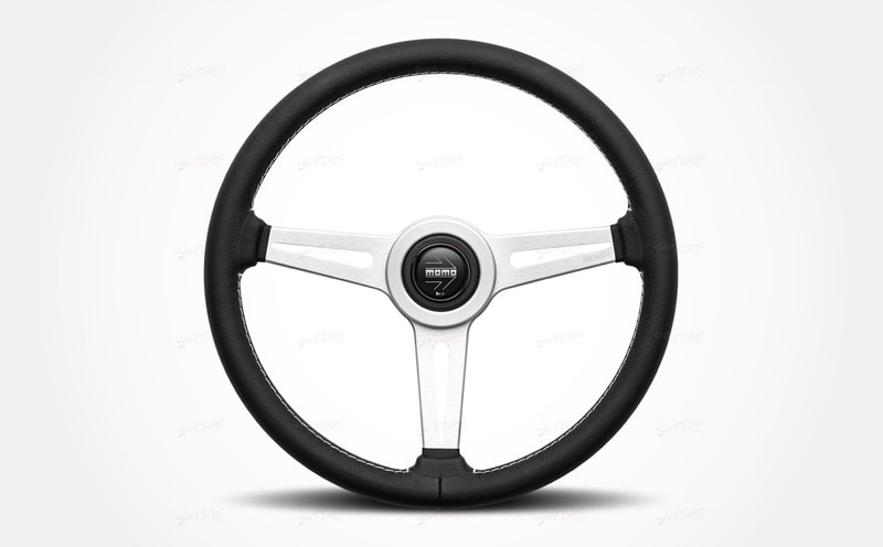 10 Best Aftermarket Steering Wheels For Your Classic Car MOMO Retro Leather Steering Wheel