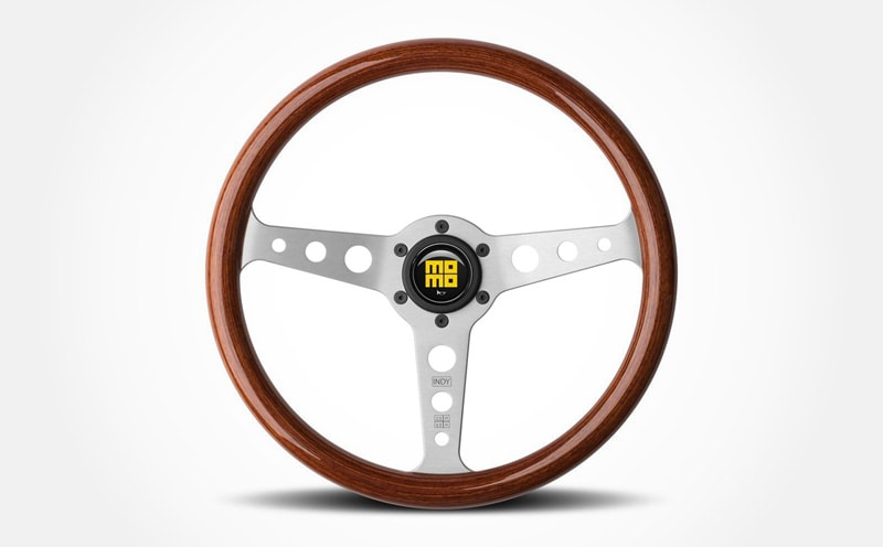 10 Best Aftermarket Steering Wheels For Your Classic Car MOMO Steering Wheel Heritage Indy Mahogany
