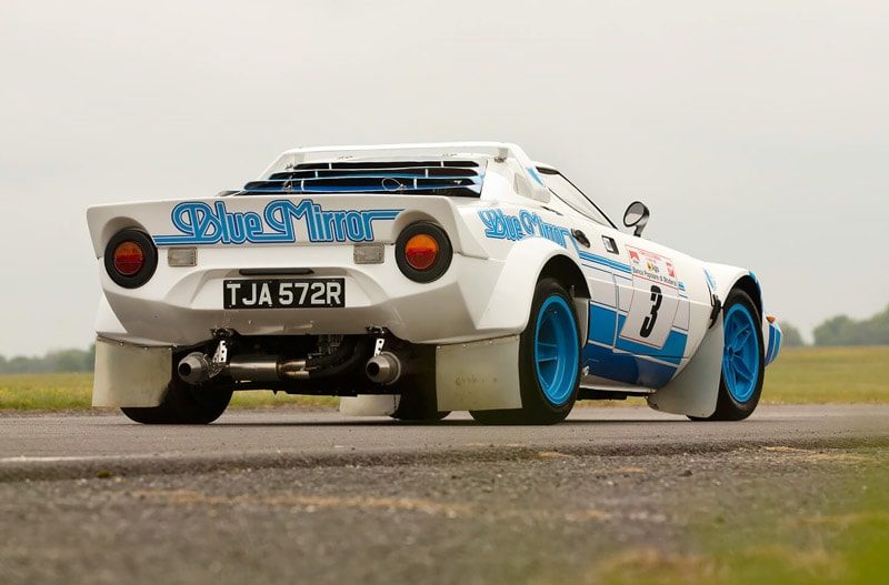 1977 Lancia Stratos HF Group IV Rally Car