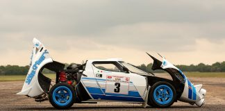 1977 Lancia Stratos HF Group IV Rally Car