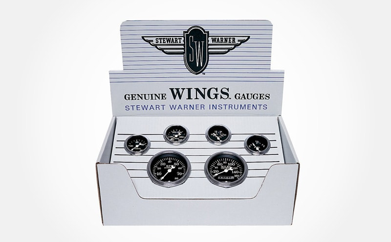 Stewart warner gauges