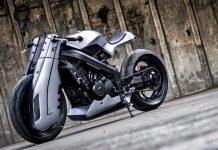 Futuristic Custom Honda BROS 400 by K-Speed