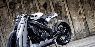 Futuristic Custom Honda BROS 400 by K-Speed