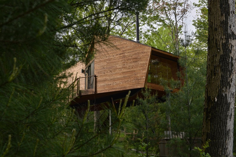 Modern Tree House Design By Antony Gibbon Old News Club