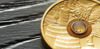 Spirit Coins set: Centuries-old whisky, rum and cognac hidden in gold coins