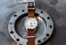 Werenbach Mach 33: Watch made of rocket material by Werenbach