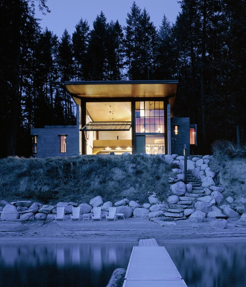 World's Most Beautiful Door by Olson Kundig