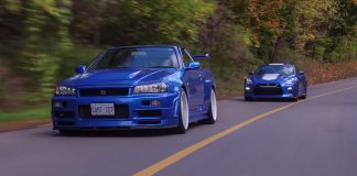 2020 Nissan GTR 50th Anniversary Edition vs R34 Skyline GTR V-Spec