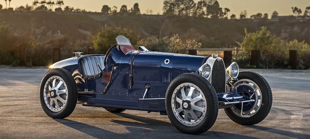 VIDEO: Back to the golden days of Bugatti's history