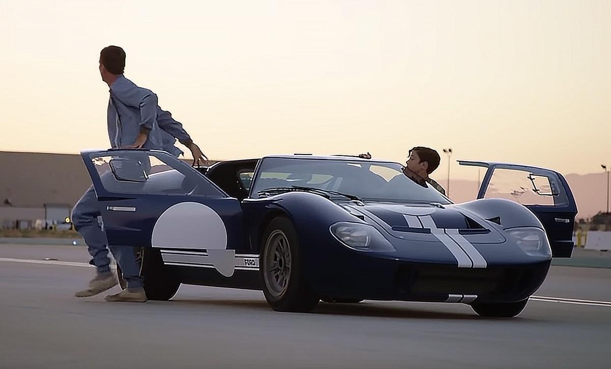 Behind The Scenes Ford V Ferrari Old News Club