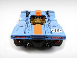 Building The Legendary Porsche 917K in LEGO