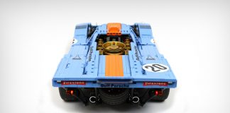 Building The Legendary Porsche 917K in LEGO