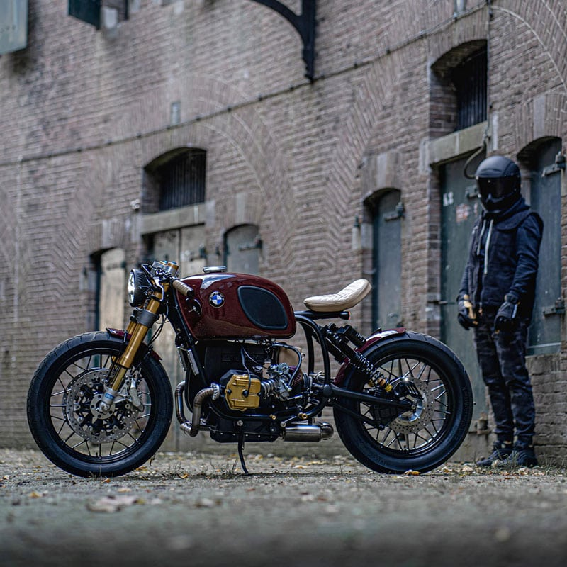 Custom Four-valve BMW R100 With Krauser Upgrade By Ironwood
