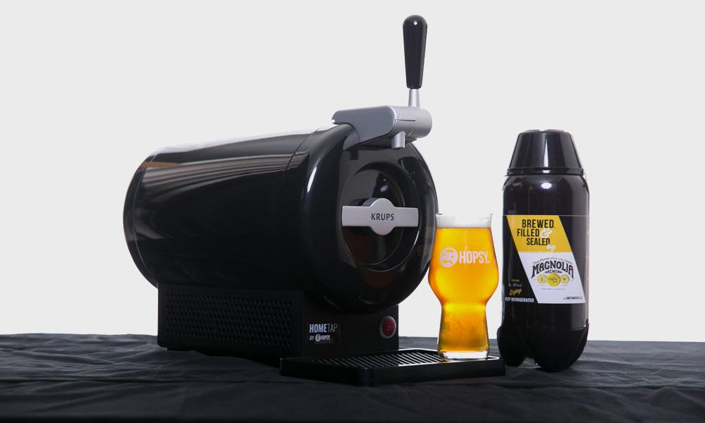 Fresh Craft Beer At Home With The Hopsy SUB Home Tab