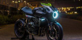 Honda CB4 Interceptor is A Futuristic Café Racer Concept
