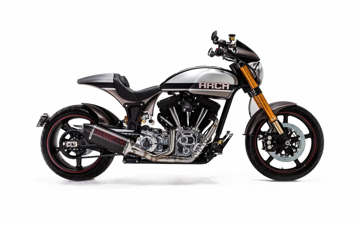 Seriously upgraded 2020 KRGT-1 Cruiser By Arch Motorcycle