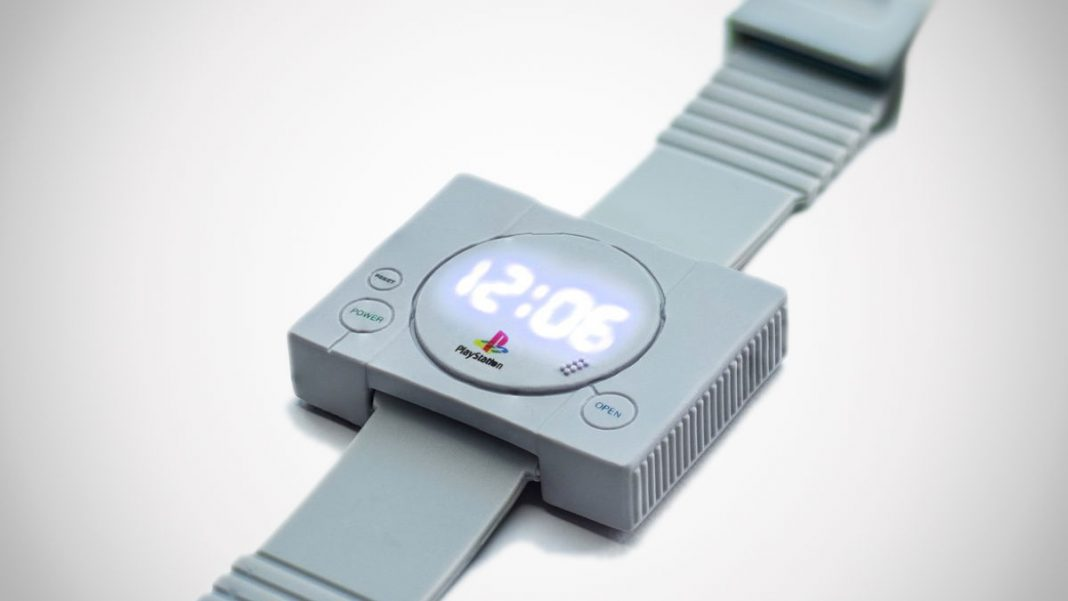 Sony's Playstation watch: Unique Time Piece For All Retro Gamers