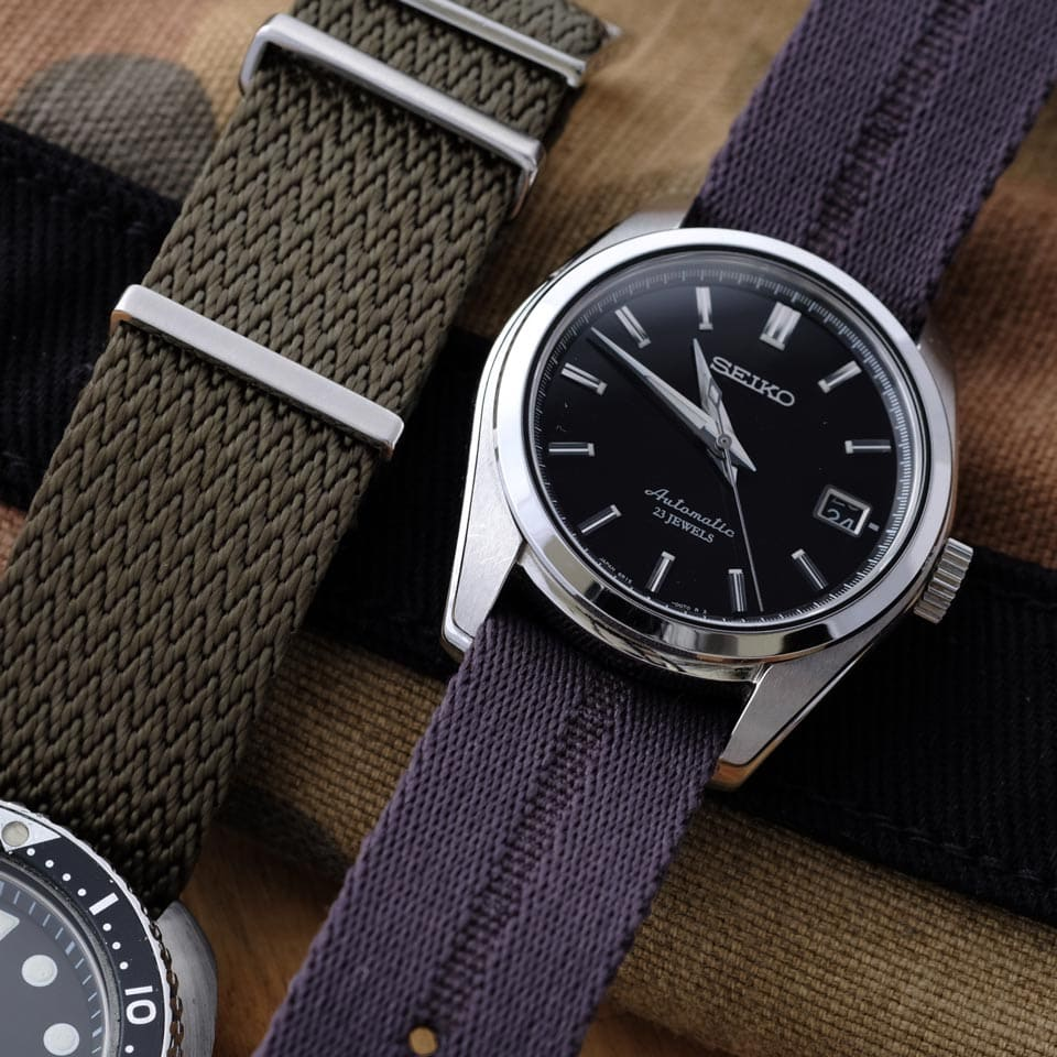 Classic single pass watch straps by RSM Watch Straps