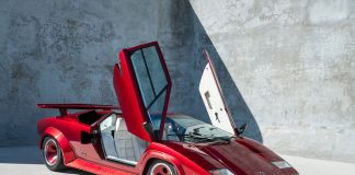 Did you know about the Lamborghini Countach Turbo?