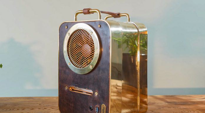 How to Build A PC Out Of Brass And Leather
