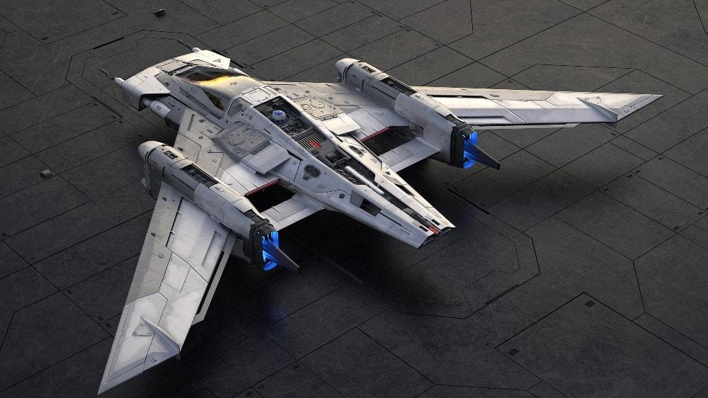 Porsche X Star Wars S-91X Pegasus Starfighter 01