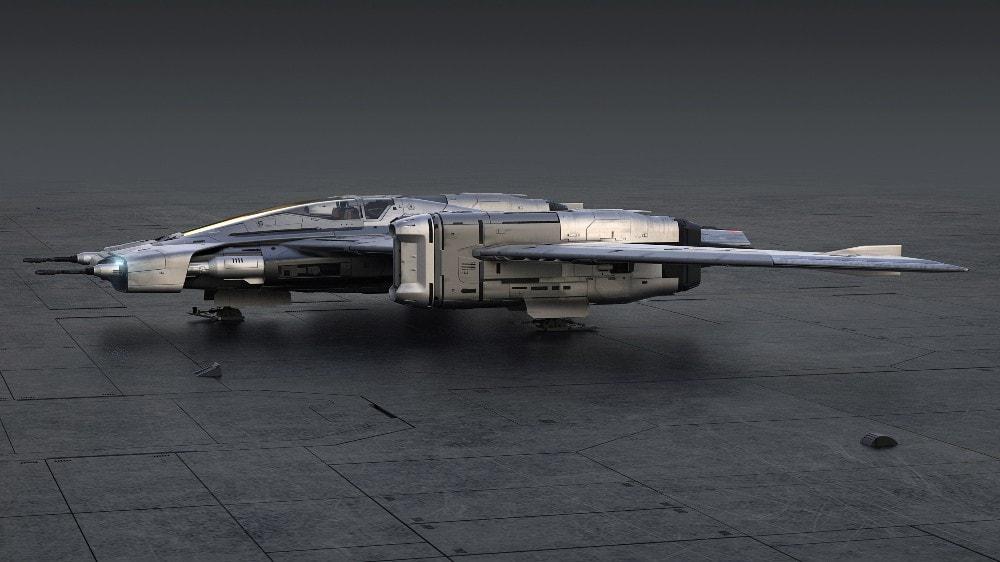 Porsche X Star Wars S-91X Pegasus Starfighter