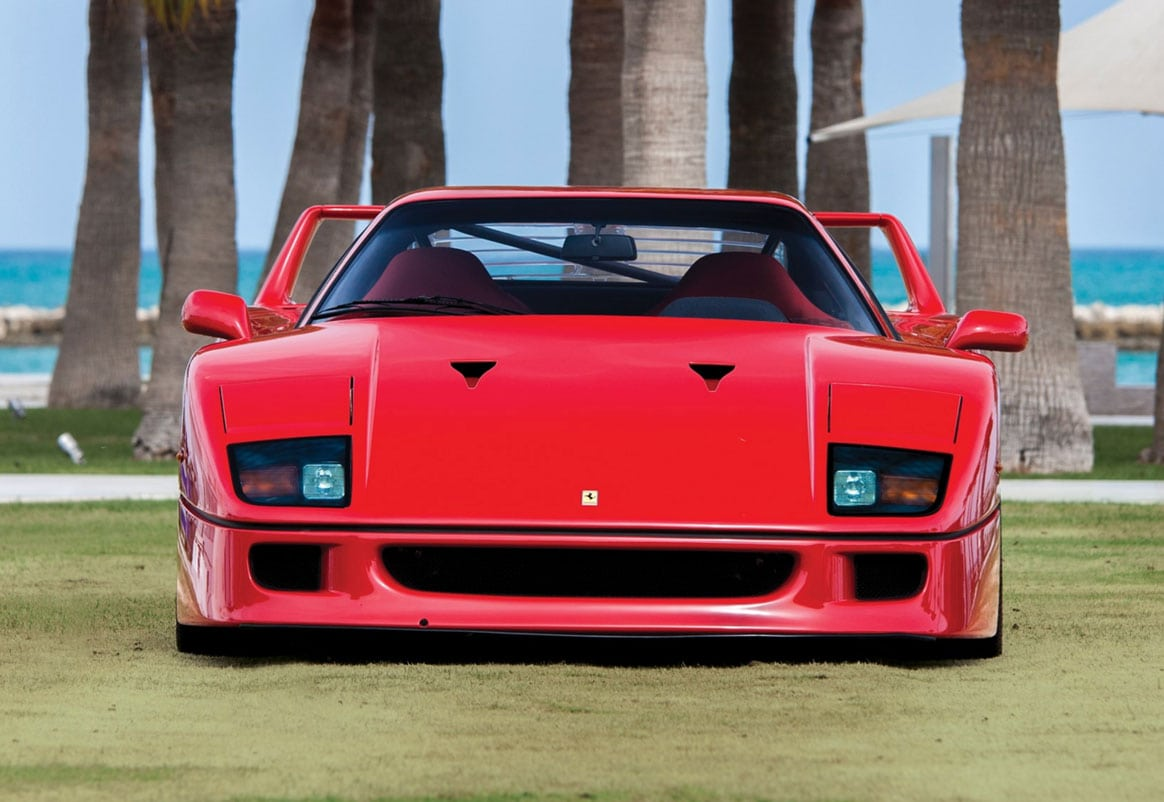 1990 Ferrari F40 – still for sale
