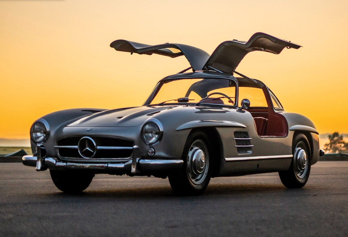 1956 Mercedes-Benz 300 SL Gullwing - Price $1,581,250