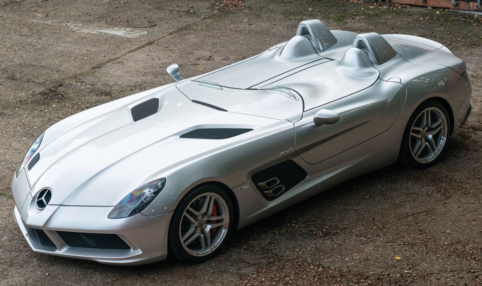 2010 Mercedes-Benz SLR Stirling Moss - still for sale