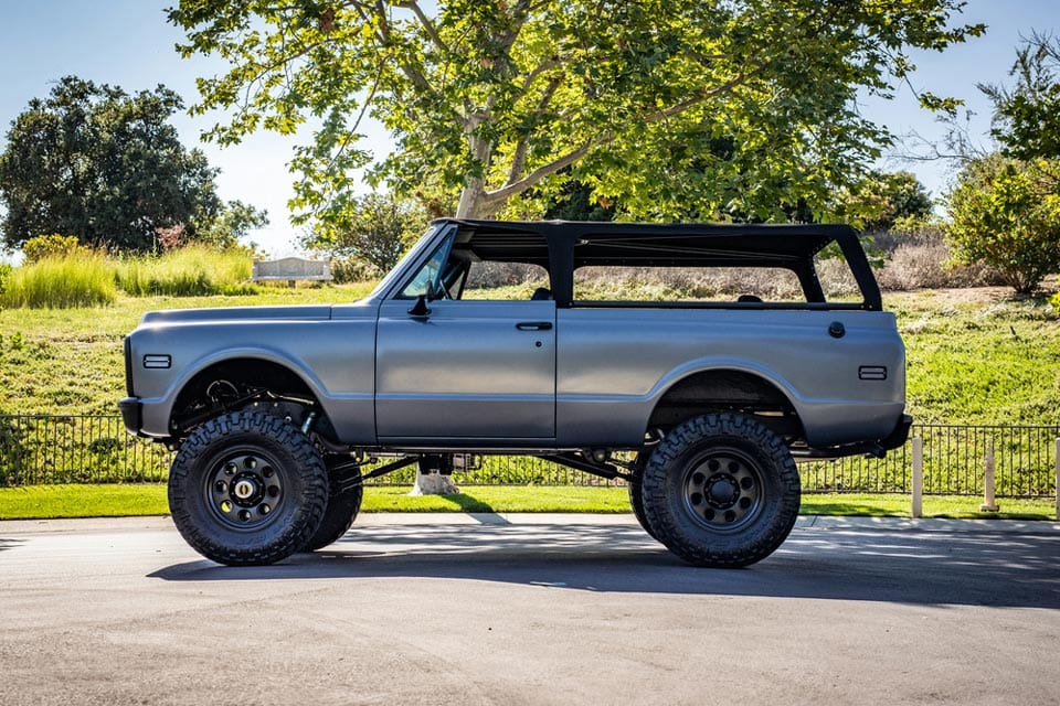 Travis Barker's 1972 Chevrolet K5 Blazer Custom SUV At Auction