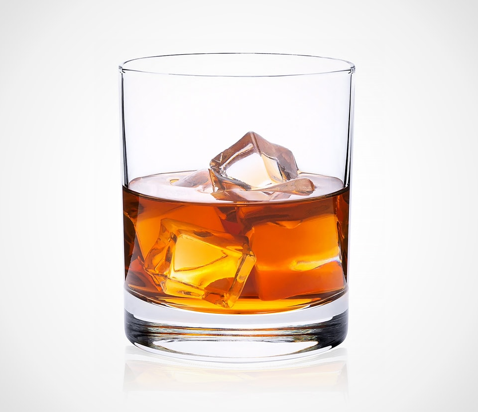 Classic old fashioned whiskey tumblers by CRYSTALIA