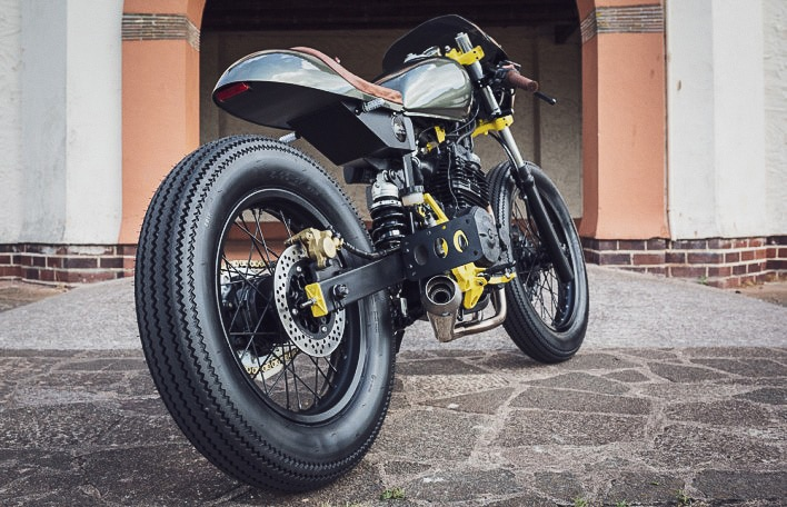 Custom Honda FX650 Vigor By Kevil's Speed Shop