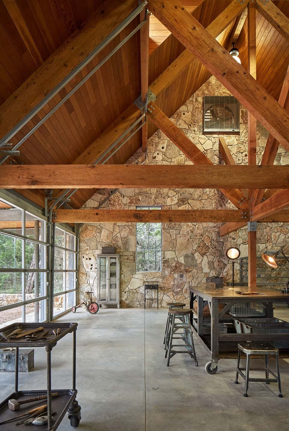 Multi-purpose Barn At Critter Creek By Furman + Keil Architects