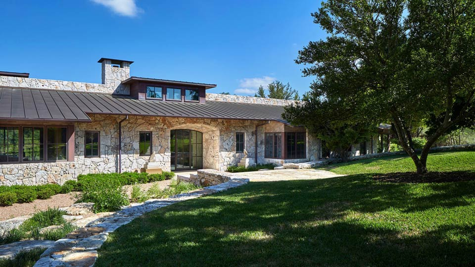 Perfect Blend Of Old And New: Stone House At Critter Creek