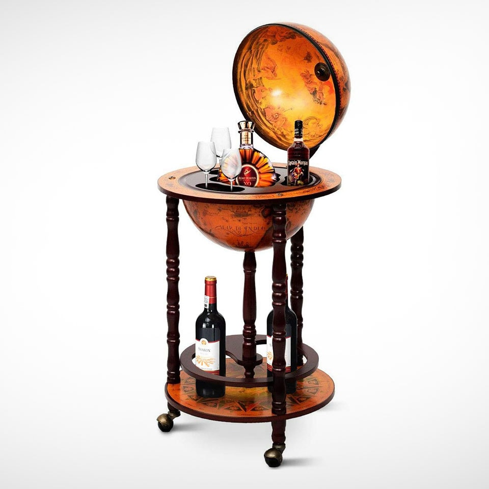 Best bar carts: The classic globe bar from Goplus