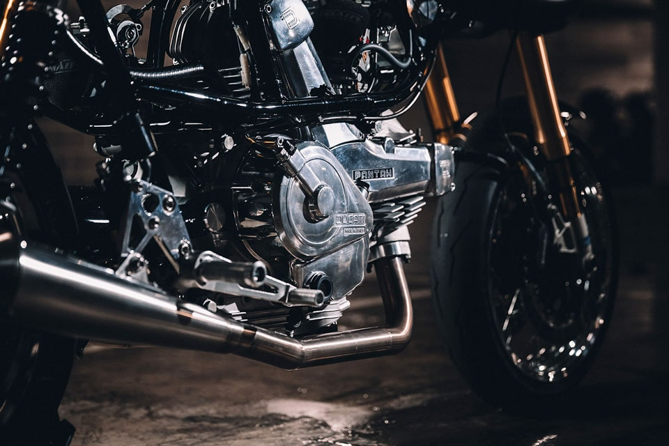1986 Cagiva Alazzurra Made Into Custom Ducati Café Racer