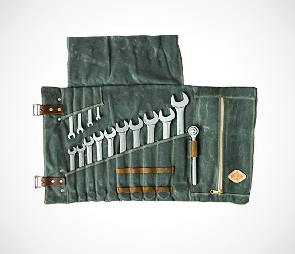 Large tool roll bag by Hersent