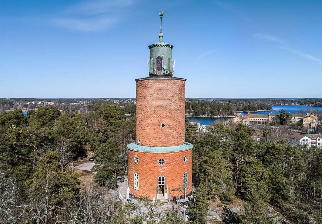 Living In A Water Tower Converted Into Unique Family Home